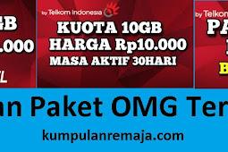 Kumpulan Paket Internet OMG Telkomsel paling Murah