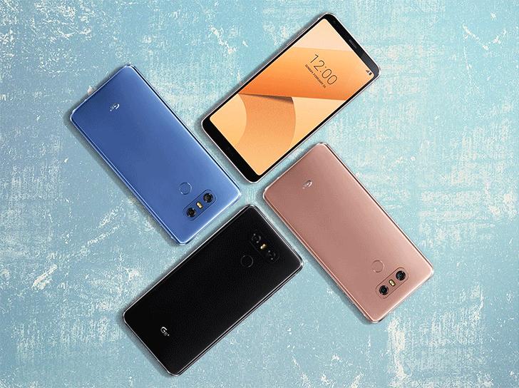 LG presenta novedades para el G6 y la nueva versión Plus