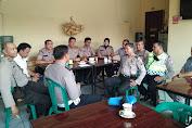 Usai Apel Pagi, Kapolsek Medan Helvetia Coffee Morning Bersama Jajarannya