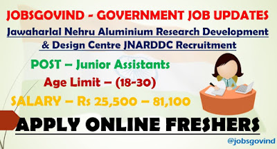 JNARDDC Recruitment 2021