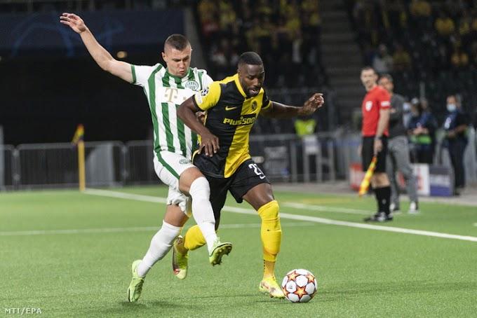 Fordulatos meccsen egy gólos hátrányba került a Ferencváros