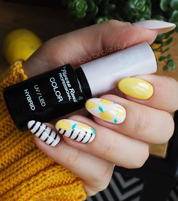 żółte paznokcie