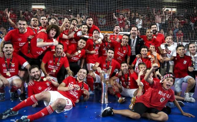 Benfica Blog Campeão Nacional de Futsal 2018/19