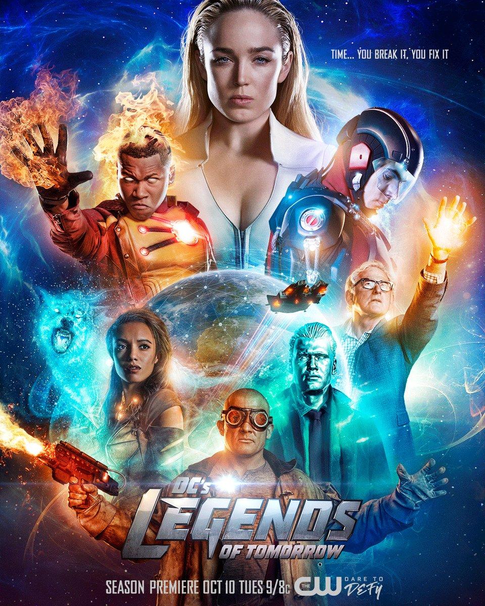 DCs Legends of Tomorrow Temporada 3 720p – 480 HDTV [English]