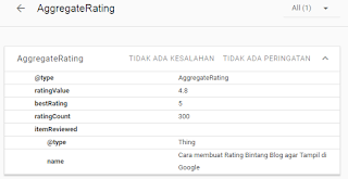cara membuat rating blog