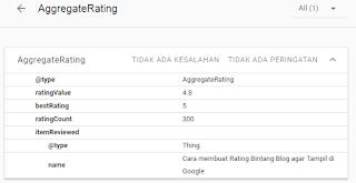 cara membuat rating blog