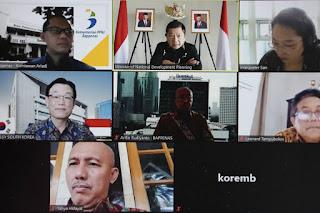 Menteri Suharso Lakukan Pertemuan Bilateral dengan Duta Besar Republik Korea