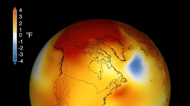Earth To Reach a temperature Tipping Point next 20 to 30 years