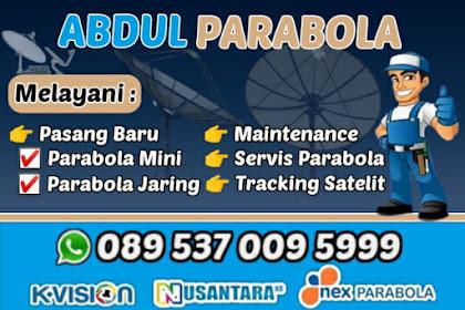 Harga Terjangkau, Pasang Parabola Termurah di Jember Jawa Timur