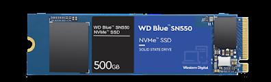 WD BLUE SN550 500GB SSD