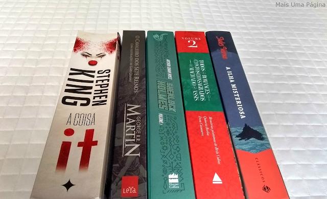 Seleção de cinco livros para ler em abril