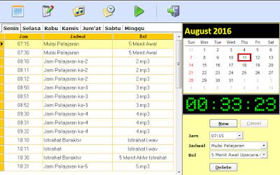 Download Aplikasi Bel Sekolah Otomatis Full Version