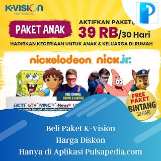 Paket Anak K Vision: Harga, Channel, dan Cara Pembelian