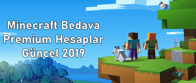 Minecraft Bedava Premium Hesaplar Güncel 2019