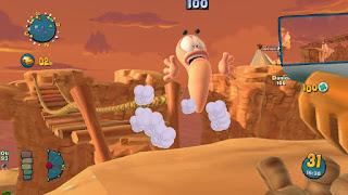 تحميل لعبة الديدان والفوضى Worms 4 Mayhem كاملة ومجاناً