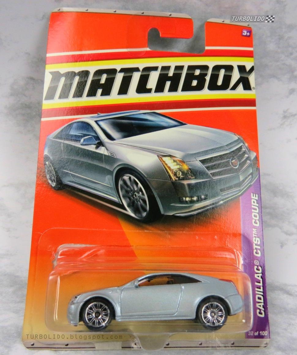 TURBOLIDO Cars: MATCHBOX CADILLAC CTS COUPE / MBX V0278