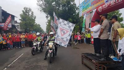 May Day, Wawalikota Mojokerto Ajak Buruh Jalan Sehat