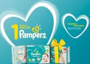 Cadastrar Promoção Carrefour e Pampers 1 Ano Fraldas Grátis