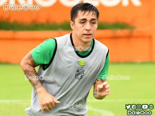Jaime Carreño podría debutar en el Clásico Cruceño con la camiseta de Oriente Petrolero - DaleOoo
