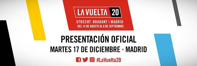 El próximo 17 de diciembre será la presentación oficial de la Vuelta a España 2020