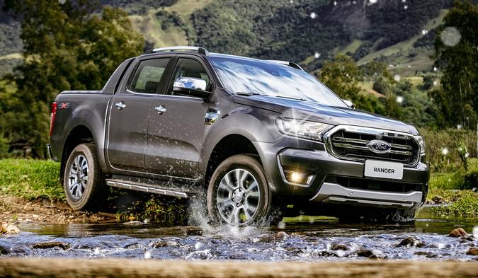 Ford Ranger assume liderança das picapes e tem maior participação da história