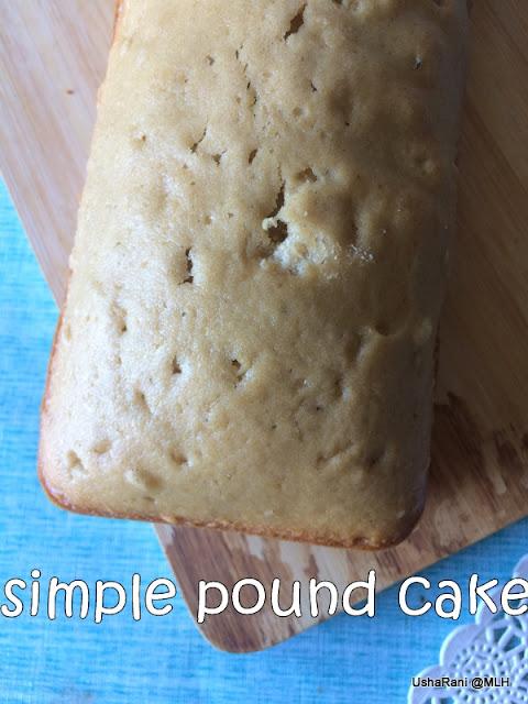 Pound Cake Using Softasilk Cake Flour