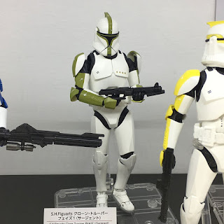 S.H.Figuarts Star Wars Ep.II Clone Trooper Phase 1 Sergeant