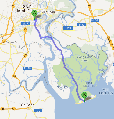 Adventures from Vietnam: Phu My Hung to Can Gio in the