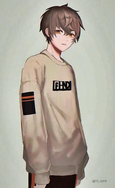 gambar anime cowok keren