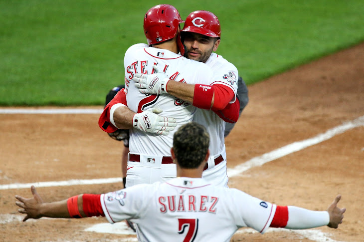 Joey Votto Hits 300th Home Run