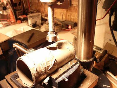HT Rohr Forstnerbohrer Tischbohrmaschine