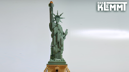 Freiheitsstatue LEGO® 21042 - DAS KLEMMT