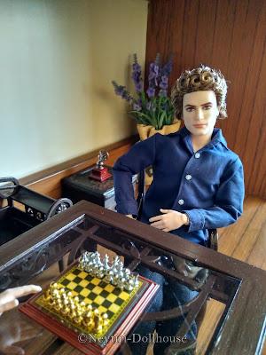 Ken Twilight Edward doll BMR rebody