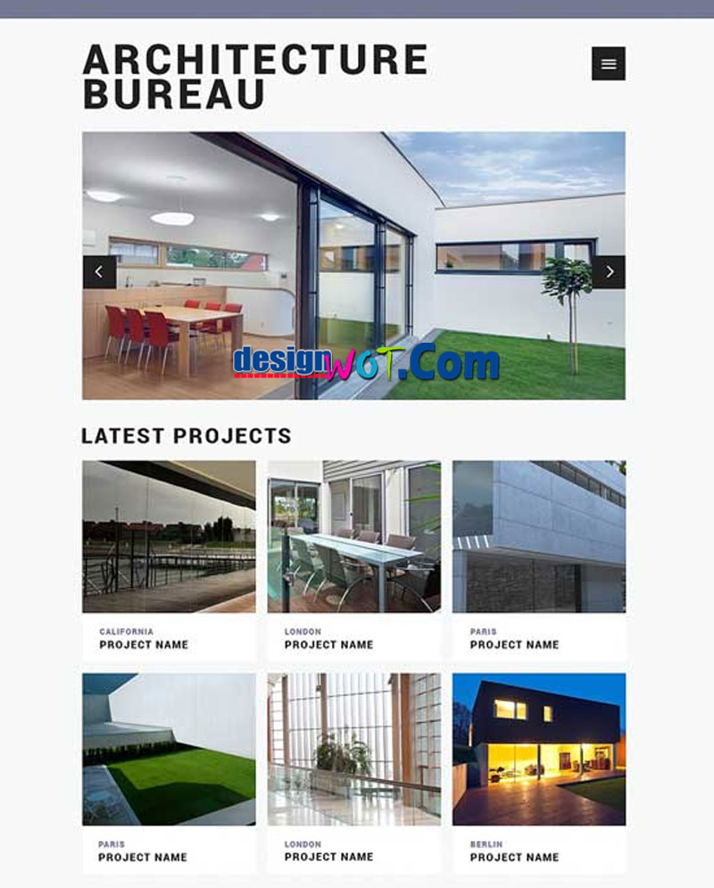 BUREAU Responsive HTML WordPress Template