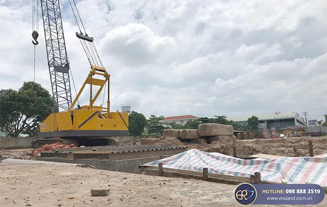 Cập nhật tiến độ thi công Căn hộ Park View Thuận An Bình Dương Tháng 8/2020