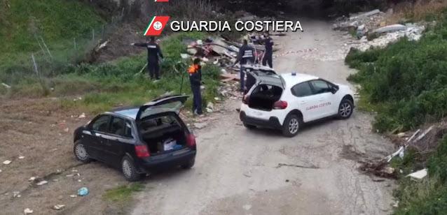 Foggia: la Guardia Costiera di Manfredonia effettua un'operazione di polizia ambientale in un agro del Comune di Foggia [VIDEO]