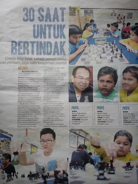 Artikel akhbar di METRO 8 Januari 2017