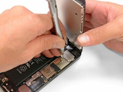 những vấn đề cần sửa iphone
