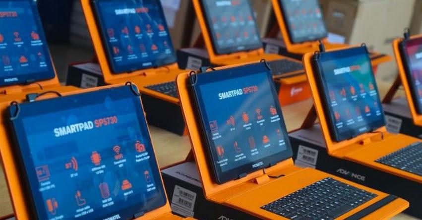 MINEDU ha logrado repartir el 60% de tablets en todo el país