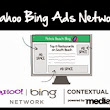 Earn money with Yahoo-Bing contextual ads