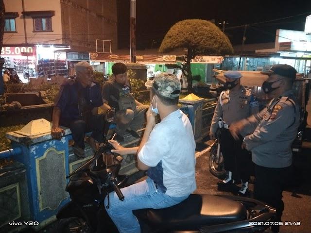 Operasi Yustisi Gabungan Gencar Dilakukan Polsek Rambutan