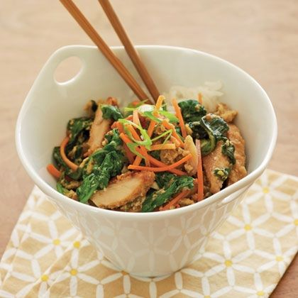 Japanese Chicken and Egg Rice Bowl