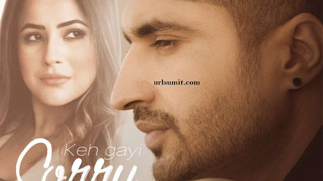 Here's the new poster of Jassie Gill's single featuring Shehnaaz Gill, Keh Gayi Sorry':