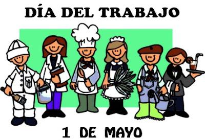 Dibujo del Día del Trabajo (Diferentes personas con diferentes trabajos)