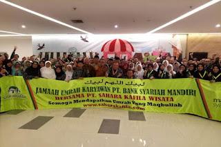 Apresiasi Pegawai, BSM Berangkatkan Ratusan Karyawan Umrah