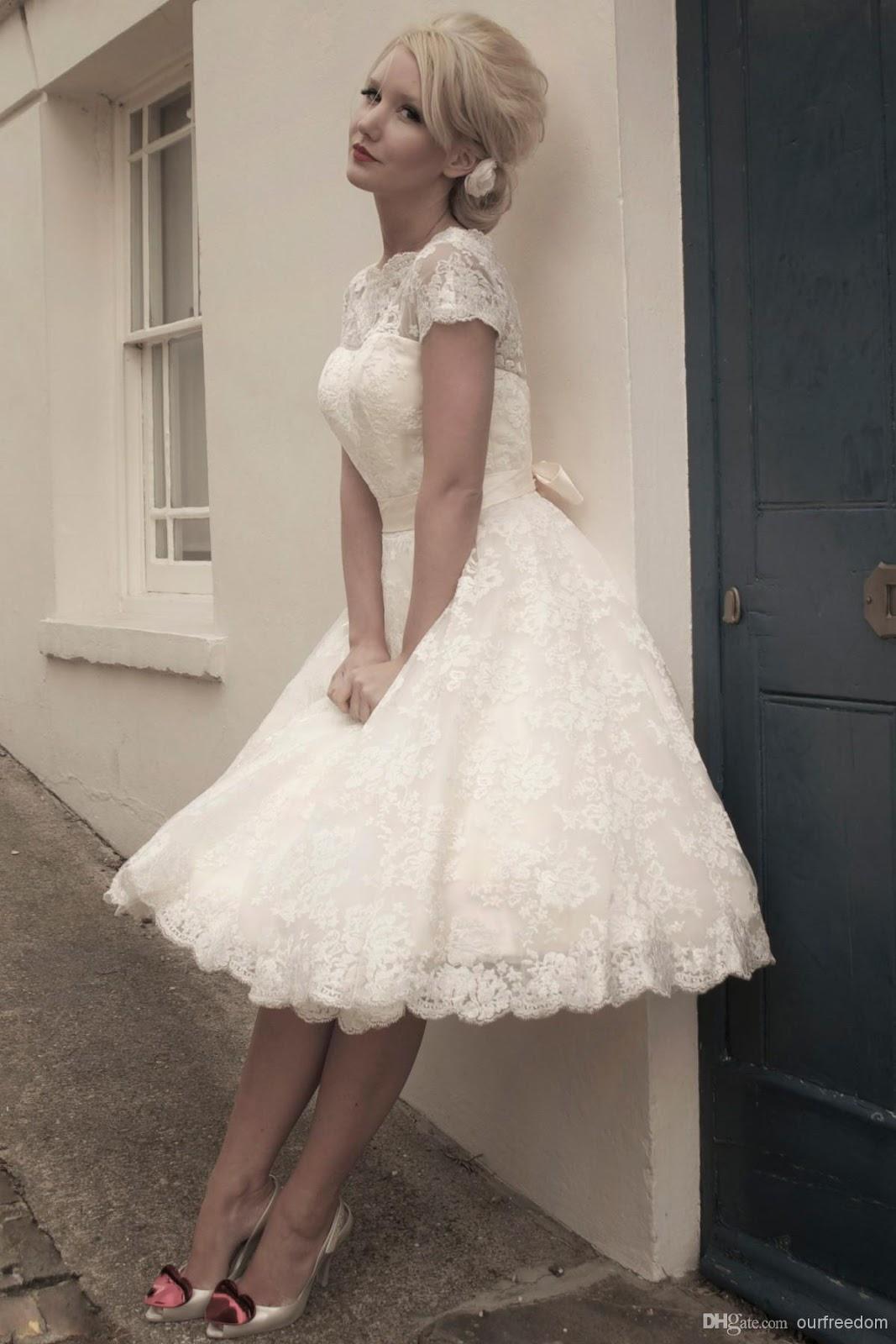 Vestidos de novias cortos 2019