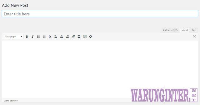 Hak Akses Kontributor Pada Wordpress