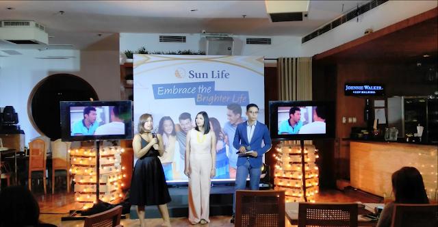 SUN LIFE'S #liveBrighter Campaign