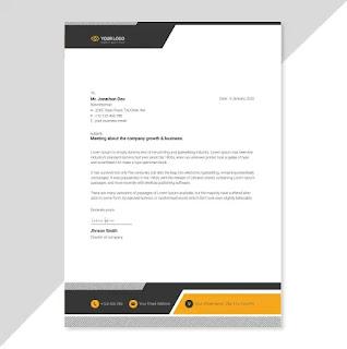 تحميل تصميم ورق رسمي جاهز