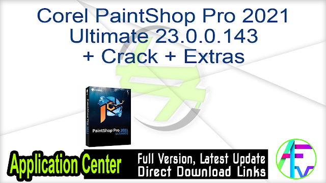 Corel PaintShop Pro 2021 Ultimate 23.0.0.143 + Crack + Extras